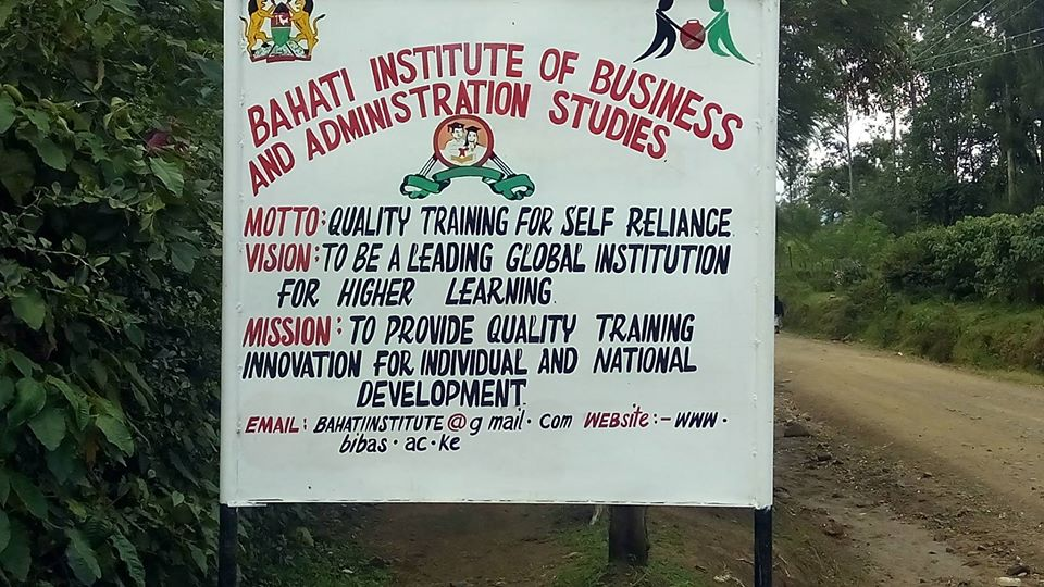 Bahati Institute of Business and Administration Studies