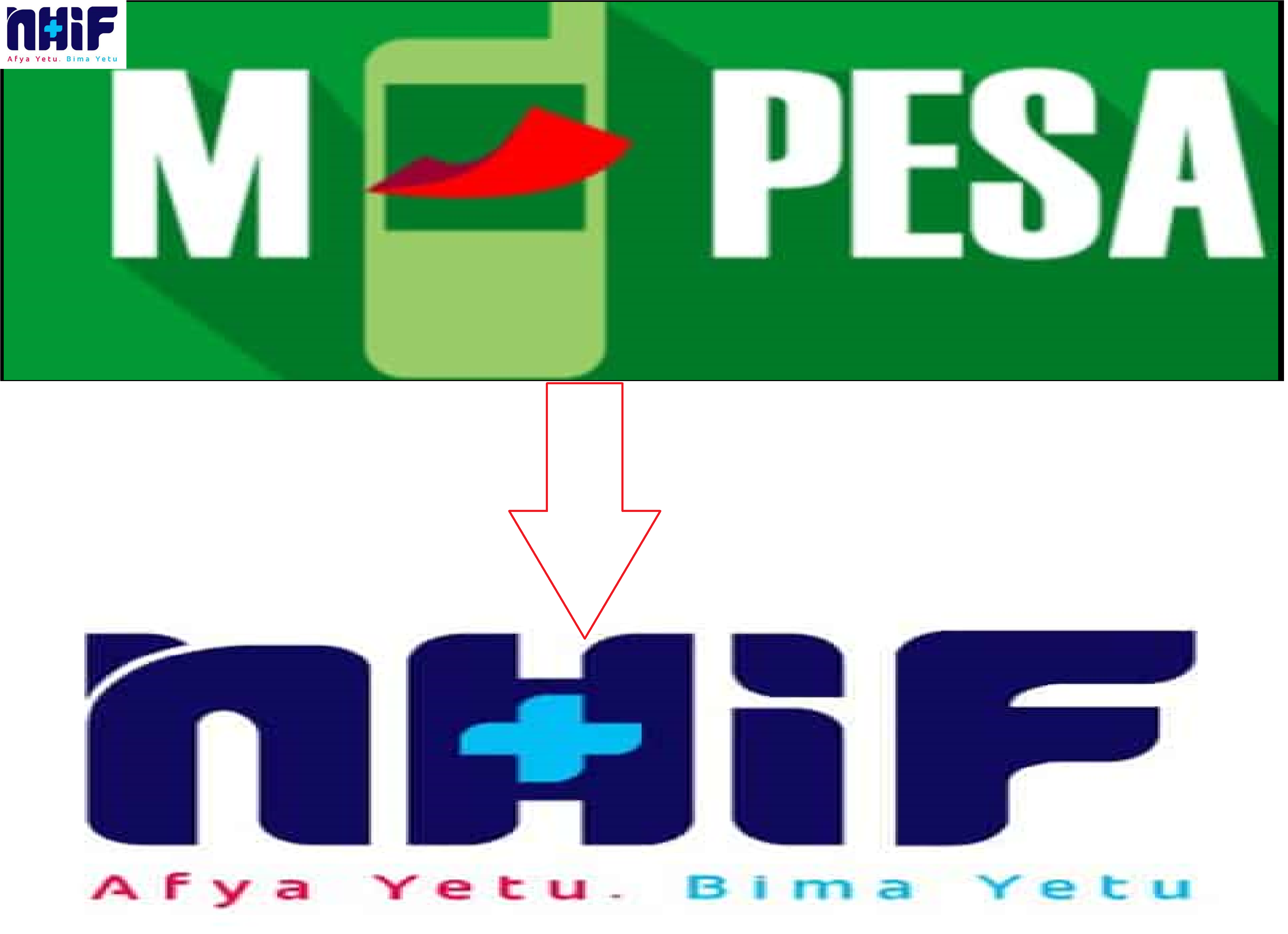 how to pay NHIF contributions using mpesa