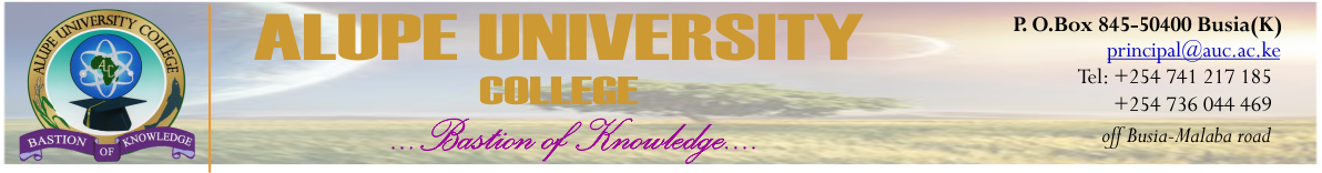 Alupe University College