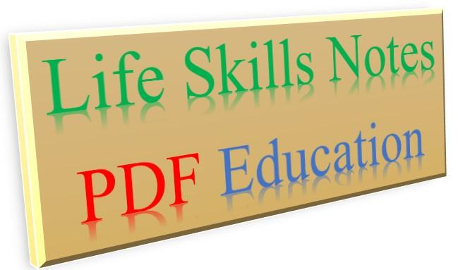 Life Skills KNEC Notes