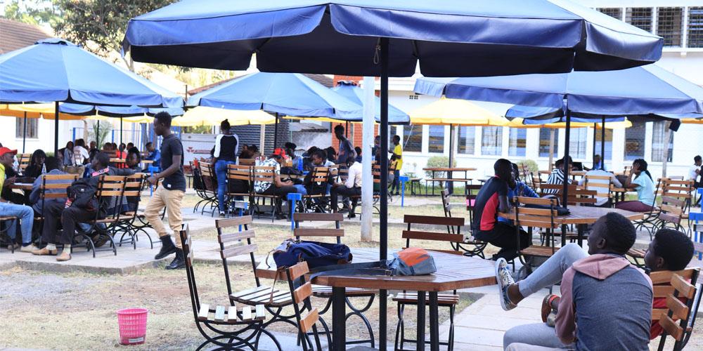 KCA University Students' Chilling Zone
