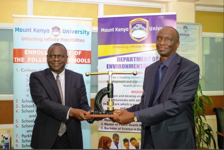 Mount Kenya University VC Deogratius Jaganyi