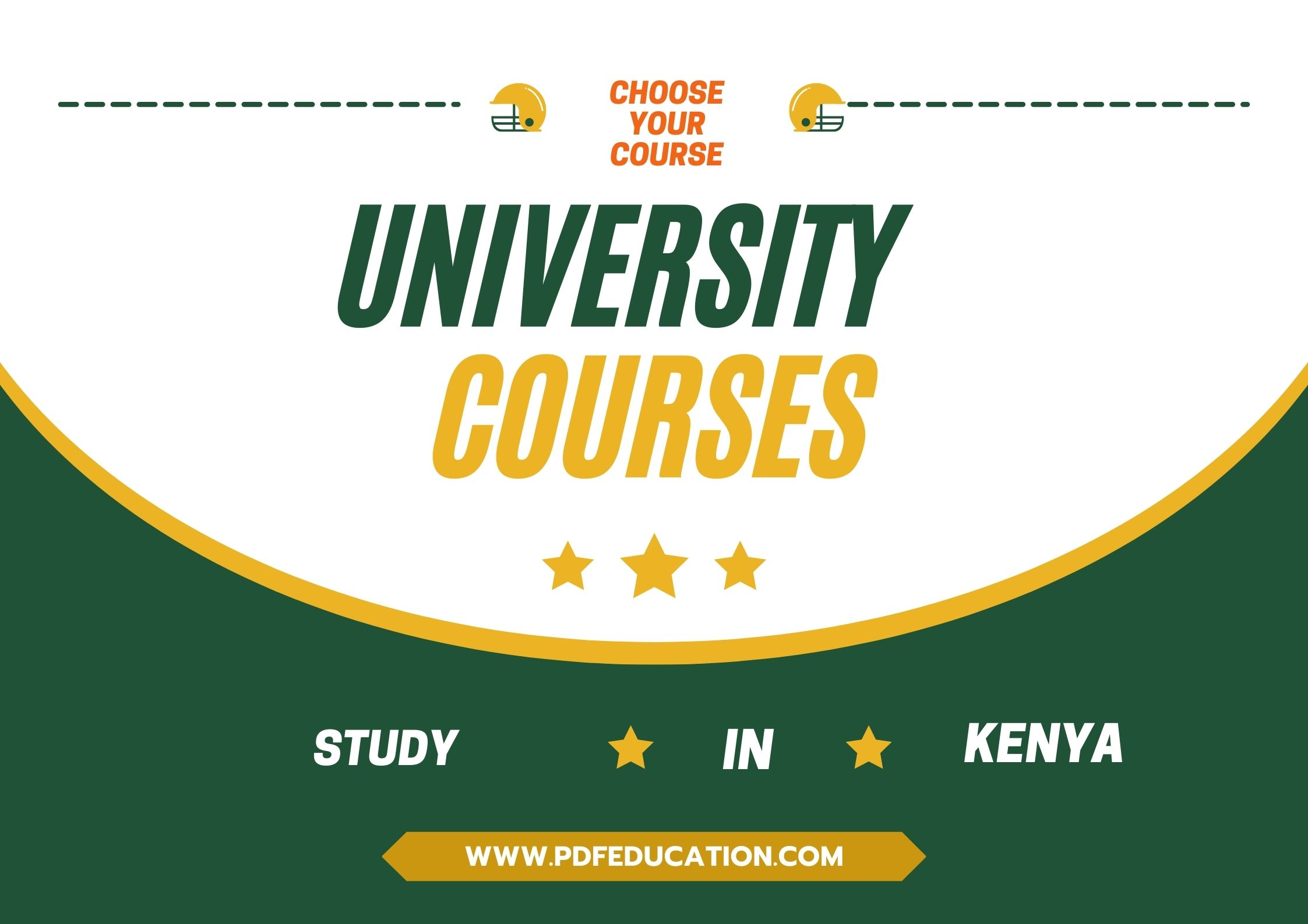choose a course in Kenya