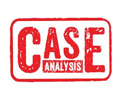 Case analysis essay